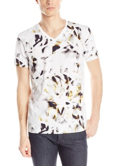 Calvin Klein Men's Short Sleeve All Over Printed