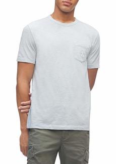 Calvin Klein Men's Short Sleeve Casual Pocket Logo Monogram T-Shirt