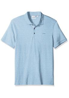 Calvin Klein Men's Short Sleeve Cotton Polo  M