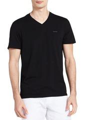 Calvin Klein Men's Short Sleeve Pima Cotton V-Neck T-Shirt