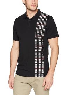 Calvin Klein Men's Short Sleeve Cotton Fashion Polo Shirt  L
