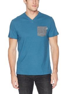 Calvin Klein Men's Short Sleeve V-Neck T-Shirt with Pocket  XL
