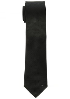 Calvin Klein Men's Simple Houndstooth Logo Tie