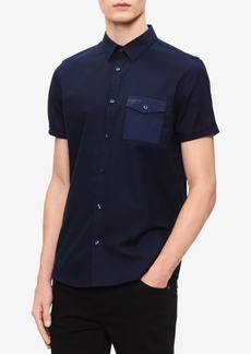 Calvin Klein Men's Single Pocket Shirt