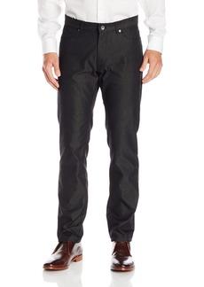 Calvin Klein Men's Slim Fit 5-Pocket Dobby Texture Pant  30W 30L