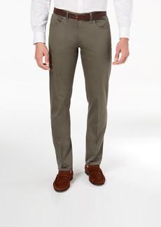 Calvin Klein Men's Slim Fit Authentic Five Pocket Sateen Pants