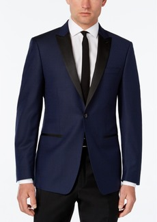 Calvin Klein Men's Slim-Fit Blue Evening Jacket