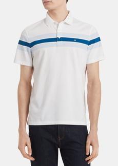Calvin Klein Men's Slim-Fit Chest Stripe Polo
