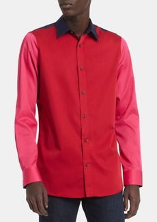 Calvin Klein Men's Slim-Fit Colorblocked Shirt