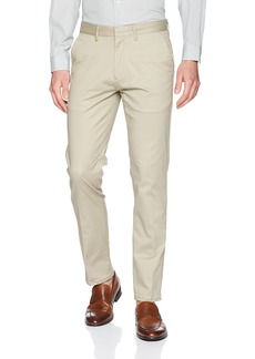 Calvin Klein Men's Slim Fit Flat Front Sateen Trouser Pant  32W 34L