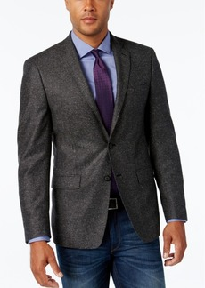 Calvin Klein Men's Slim-Fit Gray Donegal Fleck Sport Coat