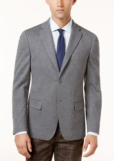 Closeout! Calvin Klein Men's Slim-Fit Gray Knit Jacket