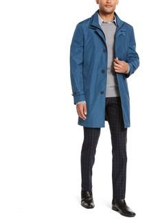 Calvin Klein Men's Munson Slim-Fit Modern Raincoat