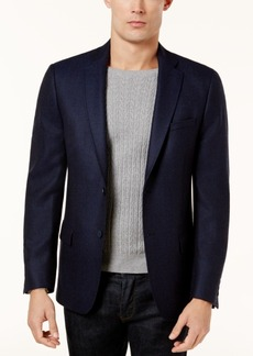 Calvin Klein Men's Slim-Fit Navy Birdseye Soft Jacket