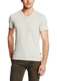 Calvin Klein Men's Slim Fit Short Sleeve V-Neck T-Shirt