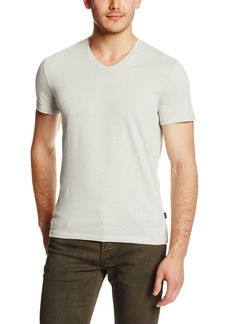 Calvin Klein Men's Slim Fit Short Sleeve V-Neck T-Shirt