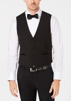 Calvin Klein Men's X-Fit Stretch Black Vest