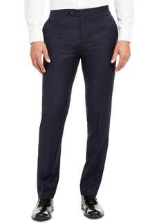 Calvin Klein Men's Slim-Fit Stretch Navy Tuxedo Suit Separate Pants