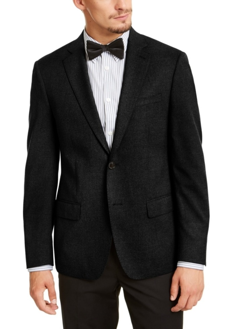 Calvin Klein Men's Slim-Fit Stretch Solid Textured Sport Coat