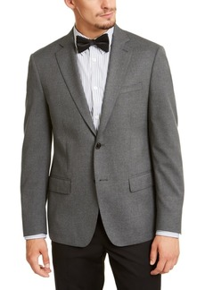 Calvin Klein Men's Slim-Fit Stretch Solid Textured Sport Coat
