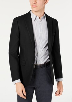 Calvin Klein Men's Skinny-Fit Stretch Textured Sport Coat