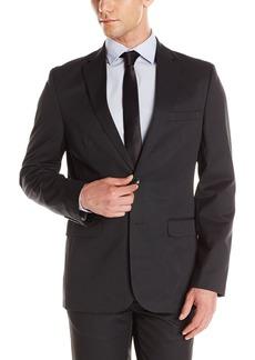 Calvin Klein Men's Slim Fit Ticking Stripe Suit Separate Sportcoat