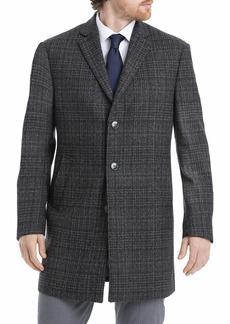 Calvin Klein Men's Slim Fit Wool Blend Overcoat Jacket  L