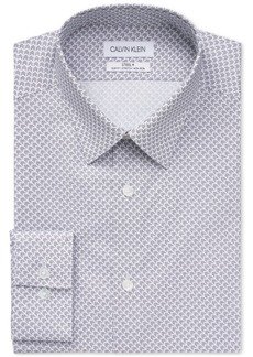 Calvin Klein Men's Slim Non-Iron Stretch Performance Dress Shirt