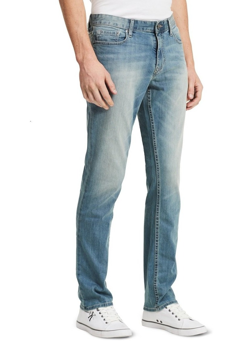 Calvin Klein Men's Slim Straight Jeans  29x32