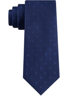 Calvin Klein Men's Small Double Dot Skinny Tie
