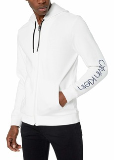 Calvin Klein Men's Soft Touch Fleece Zip Up Sweatshirt