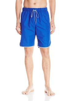 Calvin Klein Men's Solid Retro Stripe E-Board Swim Short