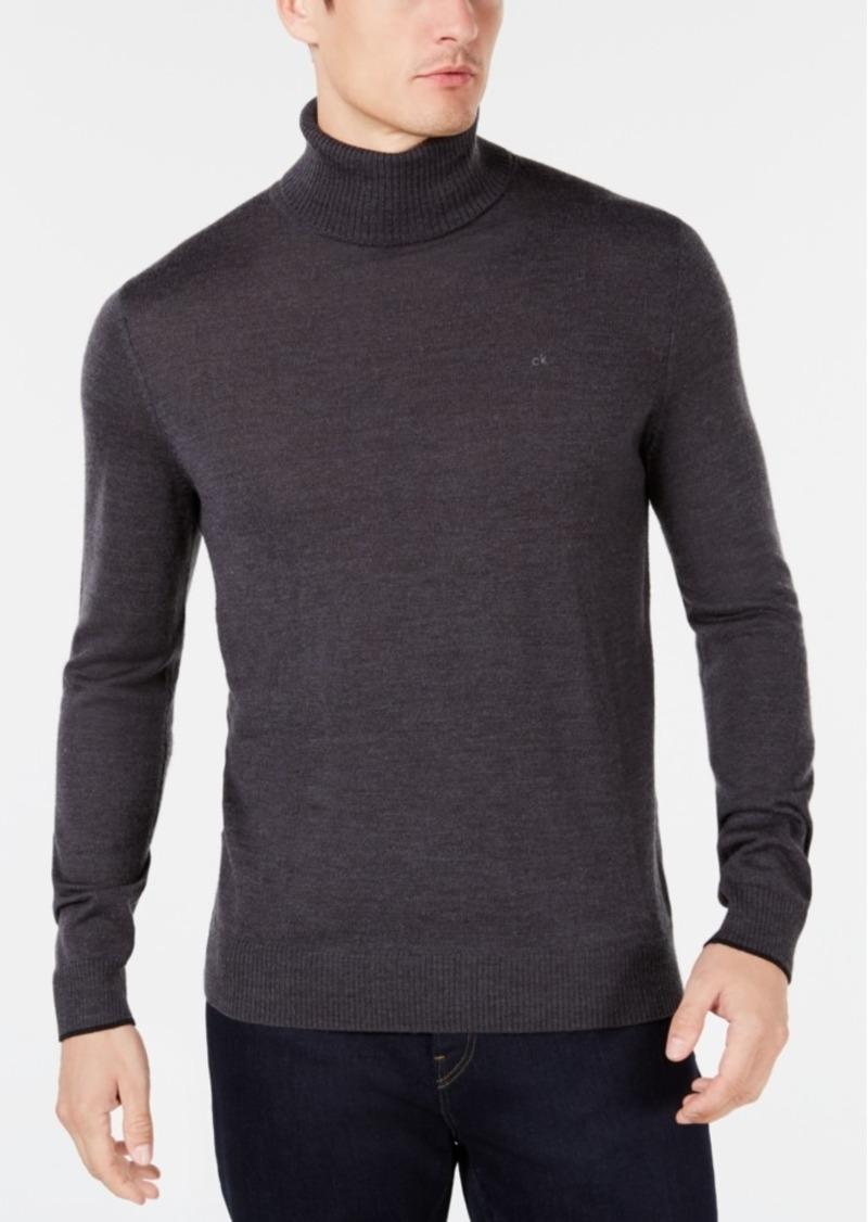 ee79d1eb43b Calvin Klein Calvin Klein Men s Solid Turtleneck