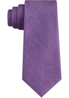 Calvin Klein Men's Solid Unsolid Skinny Tie