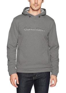 Calvin Klein Men's Space Dye Logo Pullover Hoodie