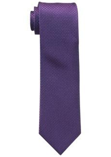 Calvin Klein Men's Steel Micro Solid Tie