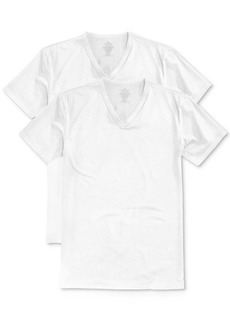 Calvin Klein Men's Stretch Cotton V-Neck Undershirt 2-Pack