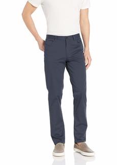 Calvin Klein Men's Stretch Sateen Casual Pants Evening Dove