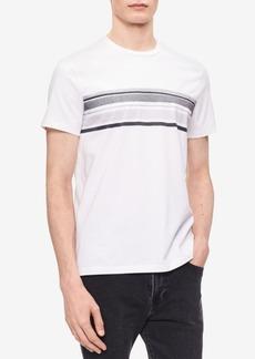 Calvin Klein Men's Striped Cotton T-Shirt