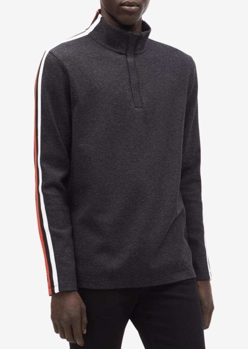 359a86d58b300 SALE! Calvin Klein Calvin Klein Men s Striped Ribbed Pullover