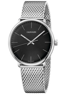 Calvin Klein Men's Swiss High Noon Stainless Steel Mesh Bracelet Watch 40mm