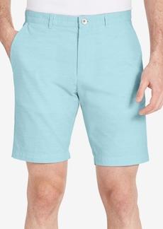 """Calvin Klein Men's Textured-Print Slim-Fit 9"""" Shorts"""