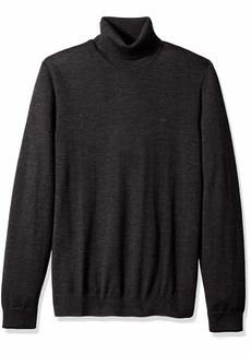 Calvin Klein Men's The Extra Fine Merino Turtleneck Sweater ANSA 2X-Large