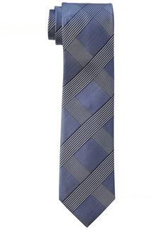Calvin Klein Men's Tonal Glenn Plaid Tie