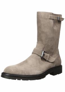 Calvin Klein Men's UGILIO Mid Calf Boot Army Fatigue Suede  M US
