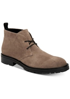 Calvin Klein Men's Ultan Suede Chukka Boots Men's Shoes