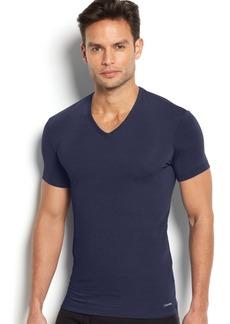 Calvin Klein Men's Underwear Body Modal V-Neck Undershirt U5563