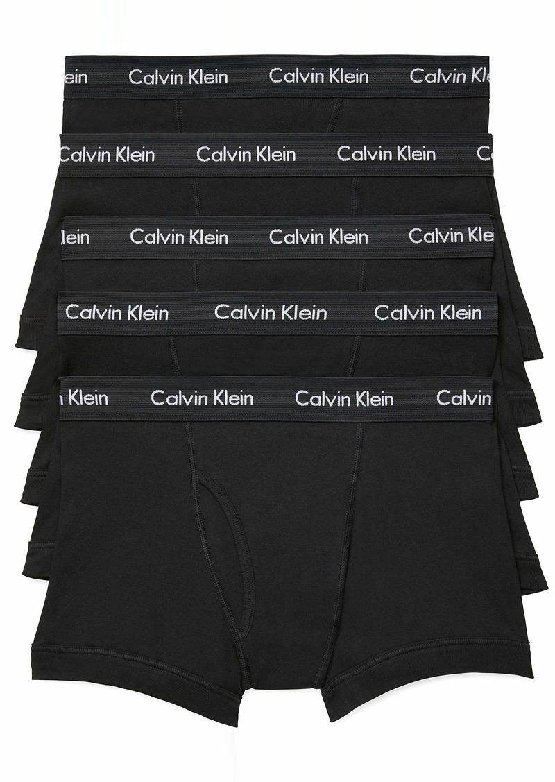 Calvin Klein Men's Underwear Cotton Classics Multipack Trunks  L