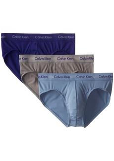 Calvin Klein Men's Underwear Hip Briefs 3 Pack Cotton Stretch