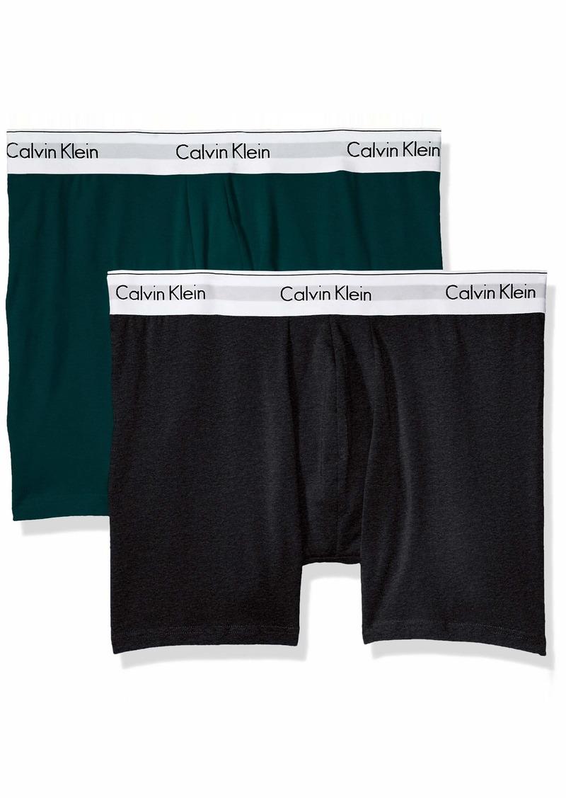Calvin Klein Men's Underwear Modern Cotton Stretch Boxer Briefs  XL